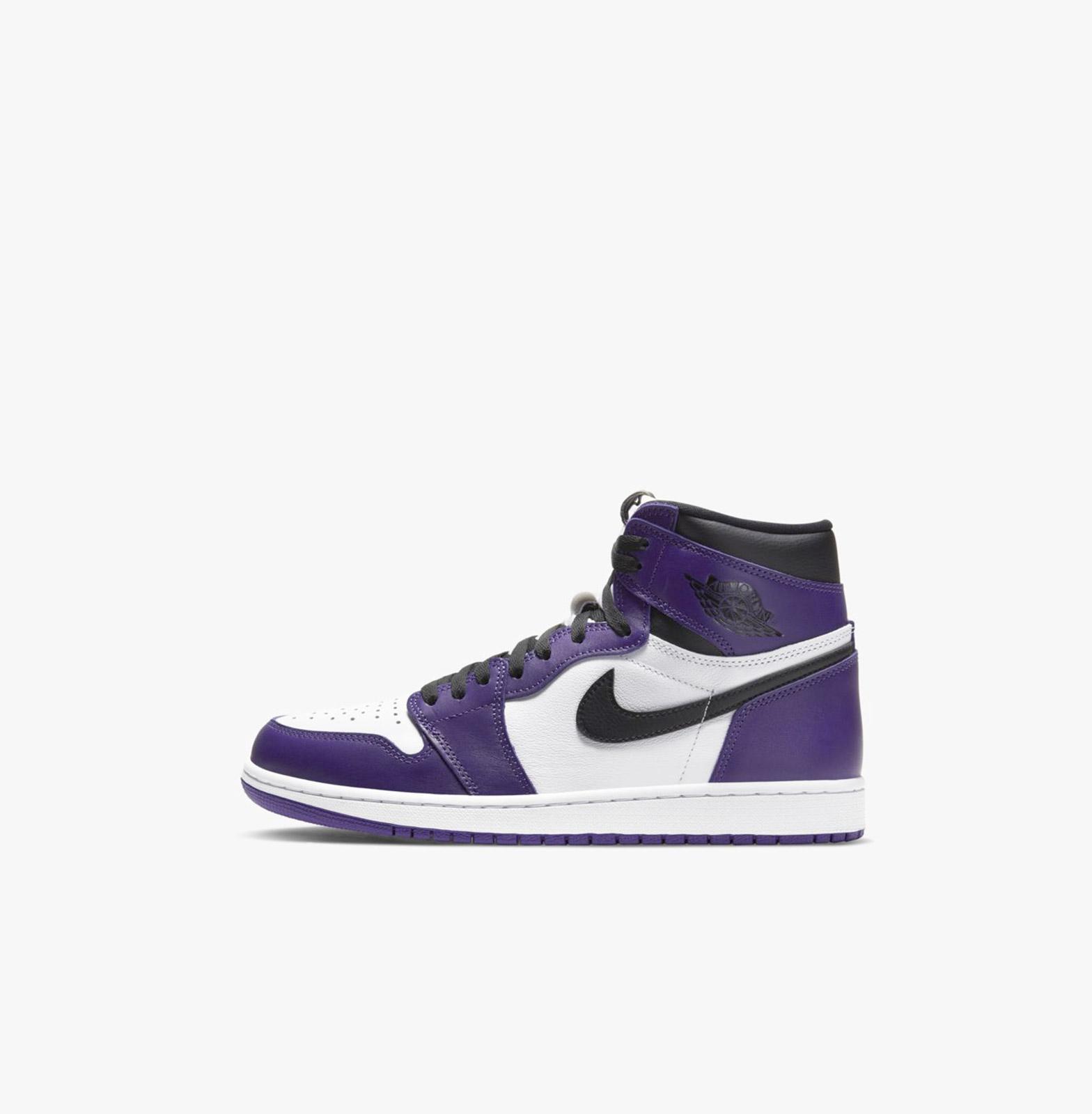Air Jordan 1 Retro High OG Court Purple - Nike   L'Original Namur ...